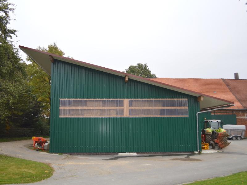 Atemberaubend Maschinenhallen: landwirtschaftliche Hallen günstig bauen | GROHA® #ND_47