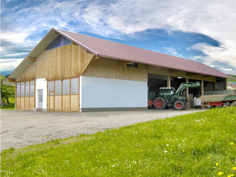 Lieblings Hallenbau für die Landwirtschaft: Agrarhallen aus Holz | GROHA® #RG_21